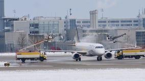Aviones de descongelación en el aeropuerto de Munich