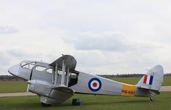 Aviones de Dragon Rapide en esquema de color de la Royal Air Force Foto de archivo libre de regalías