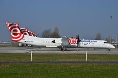 Aviones de Eurolot Imagenes de archivo