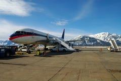 Aviones de jet Foto de archivo libre de regalías