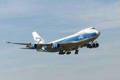 Aviones de jet de Boeing B747 foto de archivo libre de regalías