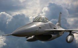 Aviones de jet del vuelo en la misión imagen de archivo