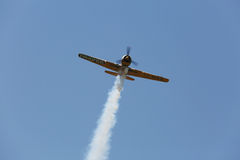 Aviones de jet en el cielo Foto de archivo