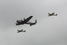 Aviones de la guerra mundial 2 fotografía de archivo libre de regalías