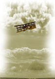 Aviones de la vendimia imagen de archivo