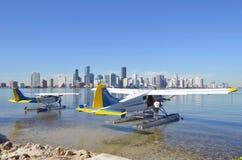 Aviones de mar de visita turístico de excursión de la carta de Key Biscayne Fotos de archivo