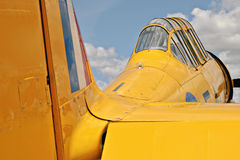 Aviones de norteamericano Harvard imagen de archivo