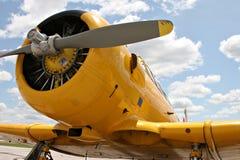 Aviones de norteamericano Harvard fotografía de archivo