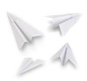 Aviones de papel Foto de archivo libre de regalías