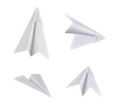 Aviones de papel Imagen de archivo