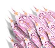 Aviones de papel del dinero Fotografía de archivo libre de regalías