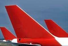 Aviones de pasajero Imagen de archivo