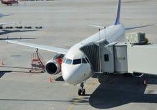 Aviones de pasajero Fotografía de archivo libre de regalías