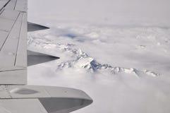 Aviones del ala Foto de archivo