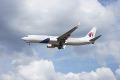 Aviones del aterrizaje Imagenes de archivo