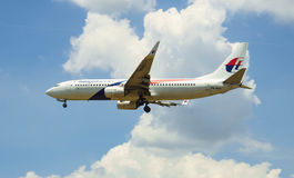 Aviones del aterrizaje Imagen de archivo