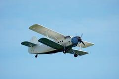 Aviones del biplano Imagenes de archivo