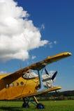 Aviones 5 del biplano que se divierten Fotos de archivo libres de regalías
