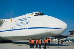 Aviones del cargo Imagen de archivo libre de regalías