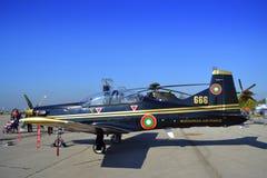 Avionesdel ilatus PC-9M de Ð Fotografía de archivo