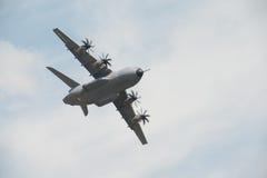 Aviones del transporte de RAF Airbus A400M Imágenes de archivo libres de regalías