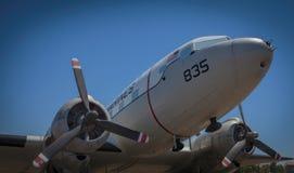 Aviones del vintage de Estados Unidos Marine Corps (USMC) Fotos de archivo libres de regalías