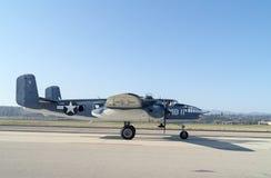 Aviones del vintage del ` de Semper Fi del ` de PBJ-1 Mitchell Imágenes de archivo libres de regalías