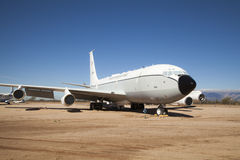 Aviones en el aire y el museo espacial, Tucson de Pima Imágenes de archivo libres de regalías