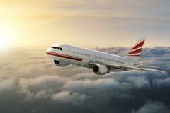 Aviones en el cielo Imagenes de archivo