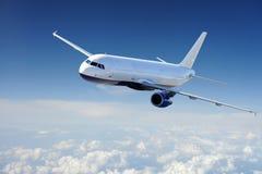 Aviones en el cielo Foto de archivo