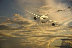 Aviones en el cielo fotografía de archivo libre de regalías