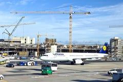 Aviones en el delantal Imagen de archivo