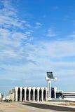 Aviones en el delantal Fotos de archivo