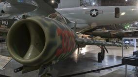 Aviones en el museo del U.S.A.F., Dayton, Ohio Fotografía de archivo libre de regalías