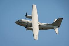 Aviones espartanos italianos de Alenia C-27J de la fuerza aérea Imagenes de archivo