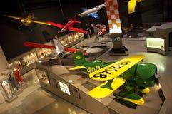 Aviones experimentales de Ohskosh Wisconsin del museo del EAA Imagen de archivo