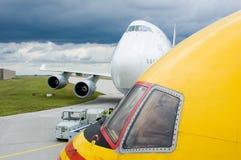 Aviones grandes Foto de archivo libre de regalías