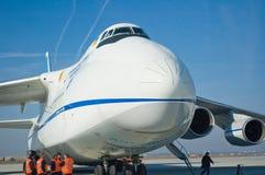 Aviones grandes del cargo imágenes de archivo libres de regalías