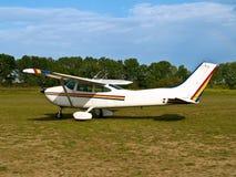 Aviones ligeros aterrizados Fotos de archivo libres de regalías