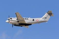 Aviones malteses de las fuerzas armadas de arma últimos Fotos de archivo