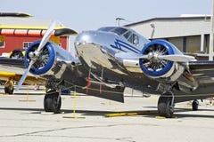 Aviones militares del vintage Fotografía de archivo
