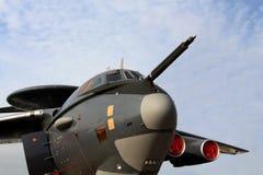 Aviones militares rusos A-50 Fotografía de archivo libre de regalías