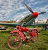 Aviones militares viejos foto de archivo libre de regalías