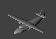 Aviones modelo en 3D Imágenes de archivo libres de regalías
