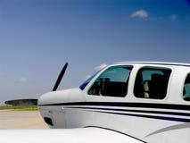 Aviones privados Imágenes de archivo libres de regalías