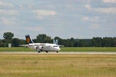 aviones Propulsor-conducidos Foto de archivo