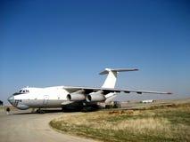 Aviones rusos de la estructura de Ilyushin Il-76 Imágenes de archivo libres de regalías