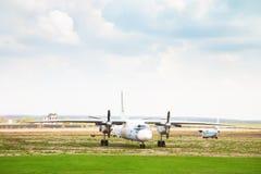 Aviones viejos en el aeródromo alterno Foto de archivo