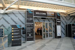 Avionics Europe 2012 exhibition Royalty Free Stock Image