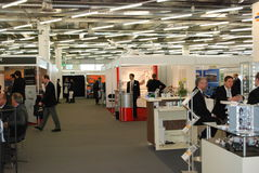 Avionics Europe 2012 exhibition Stock Photo